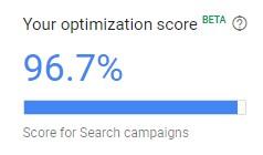 Google Ads Optimizasyon Puani