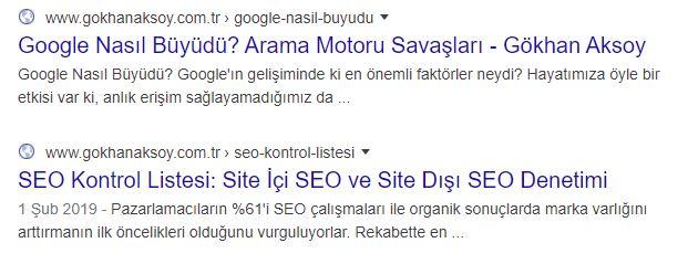 Site İçi SEO Optimizasyonu; URL'lerinizi SEO için optimize edin